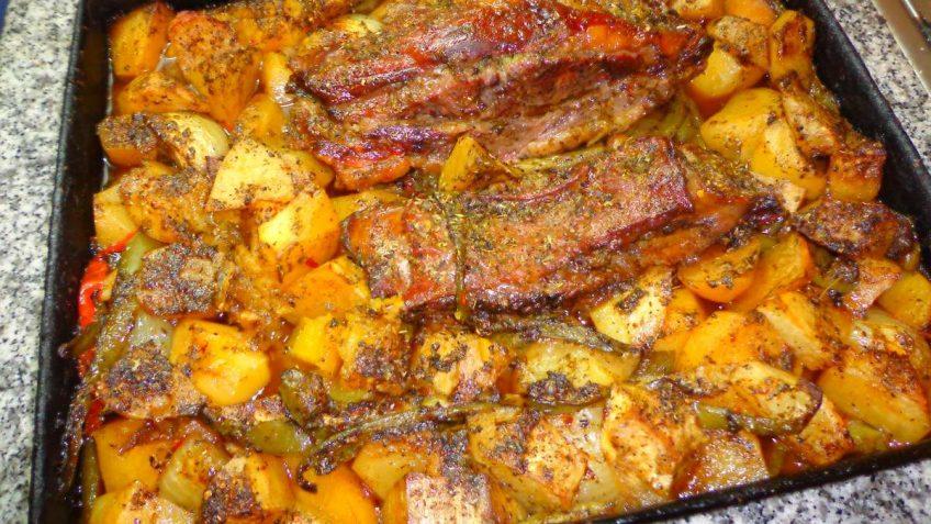 receta asado al horno