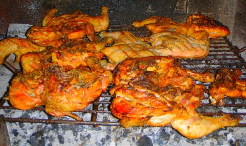 Receta de pollo a la parrilla