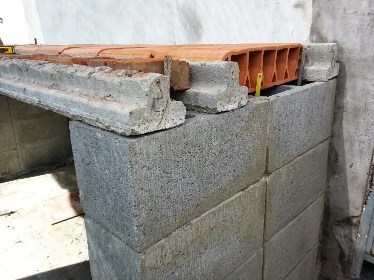 parrilla ladrillos construccion