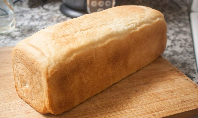 como hacer pan lactal