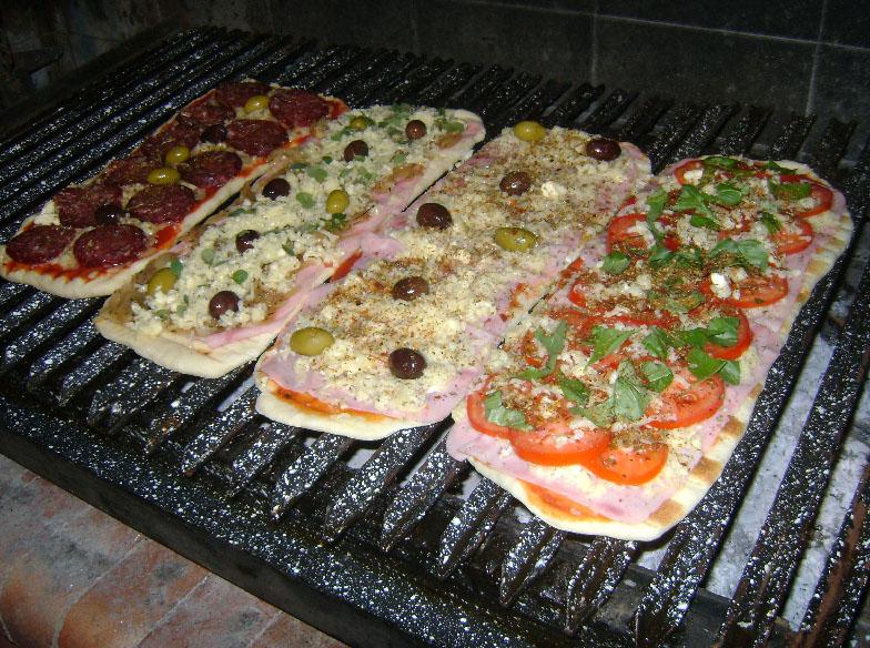 Receta Pizza A La Parrilla