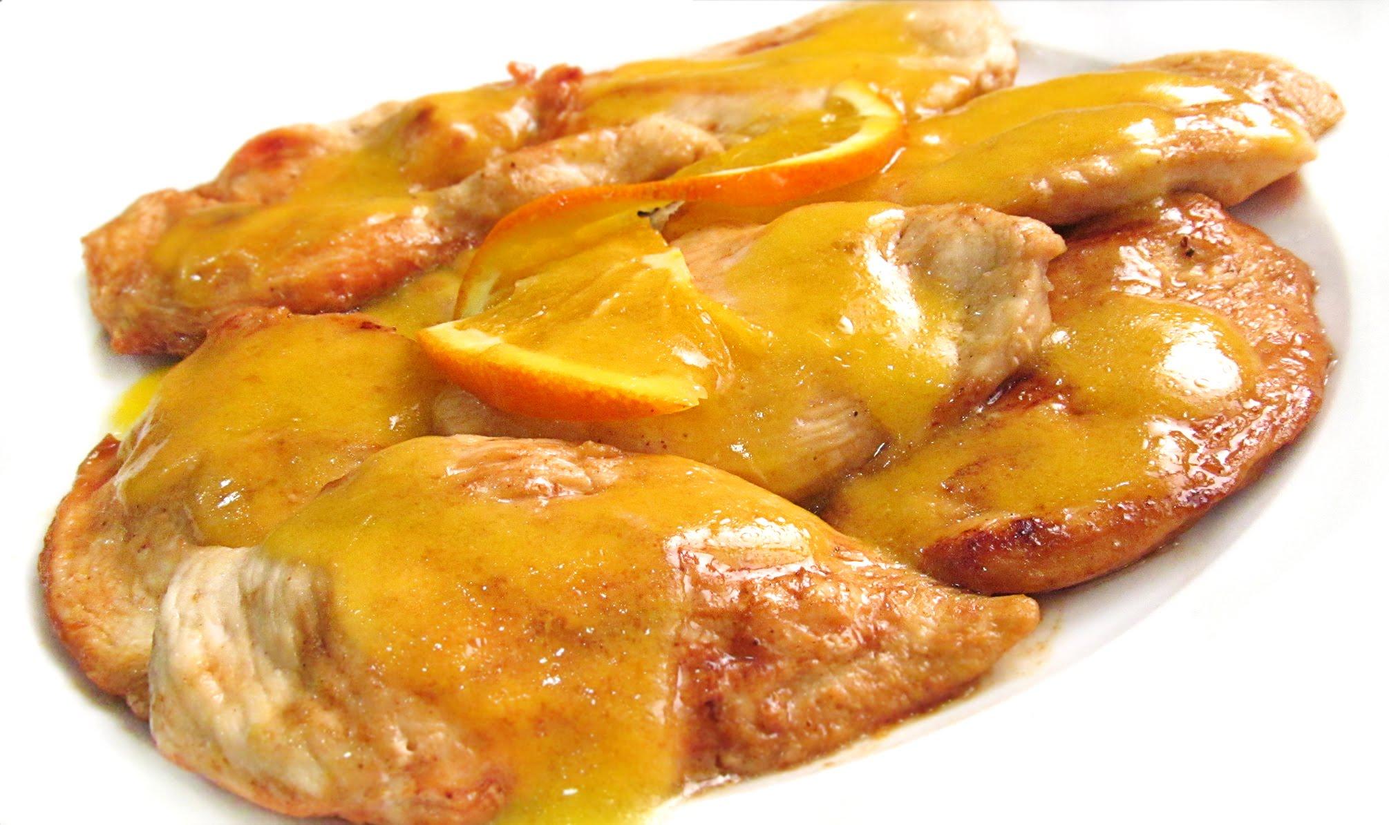 Receta Suprema De Pollo A La Naranja