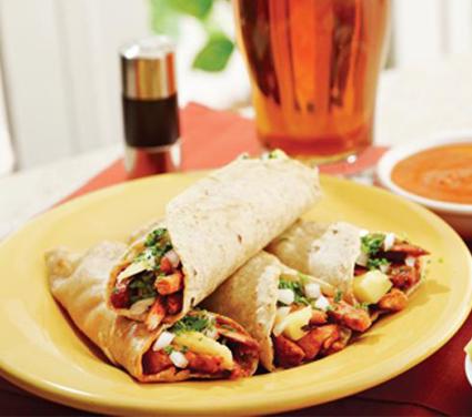 Receta Tacos De Carne Y Pollo Con Verduras Locos X La Parrilla
