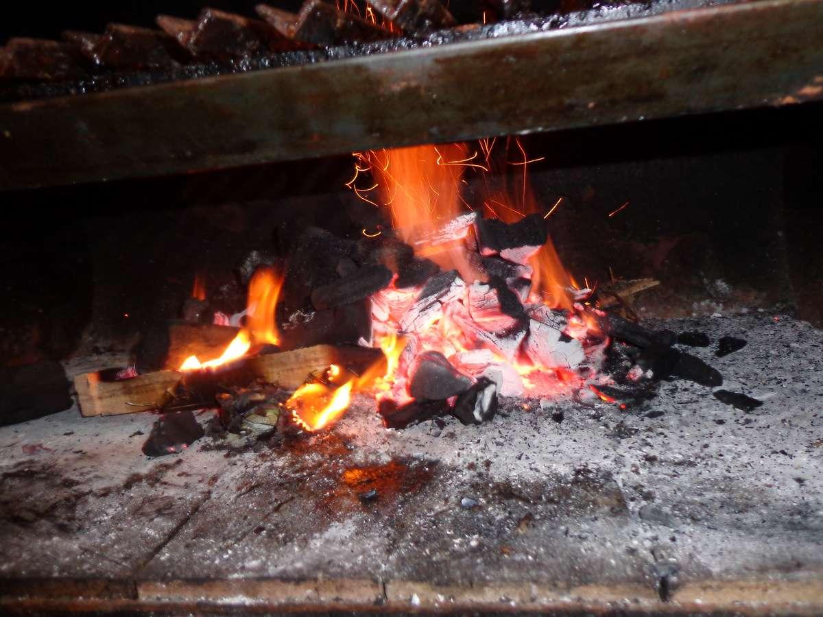 Resultado de imagen para fuego para asado